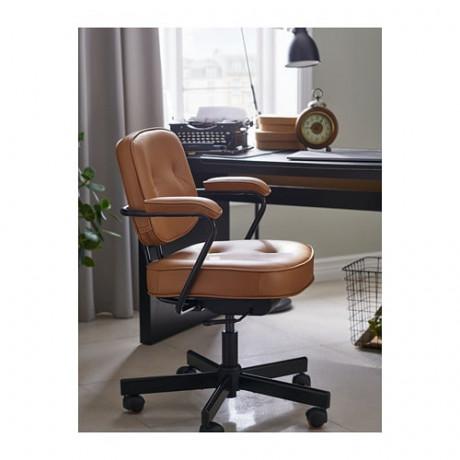 Рабочий стул АЛЕФЬЕЛЛЬ Гранн золотисто-коричневый фото 0
